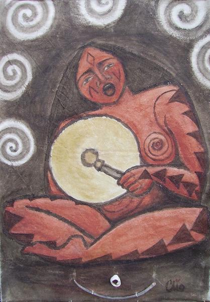 Mujer coqueteando a guadalajara